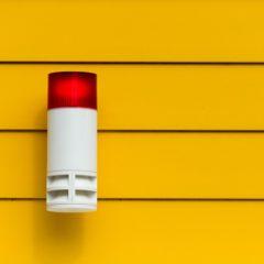 Verschillende alarm systemen